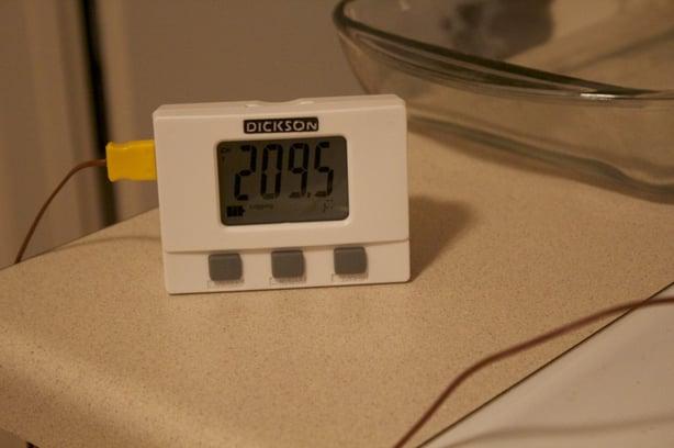 Dickson Test: Temperature and Rice