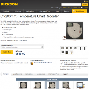 New-KT803 Product Page Screenshot