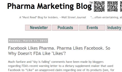 Best Pharma Blogs of 2013