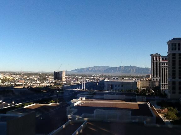 Photo of the Mountains Surrounding Las Vegas