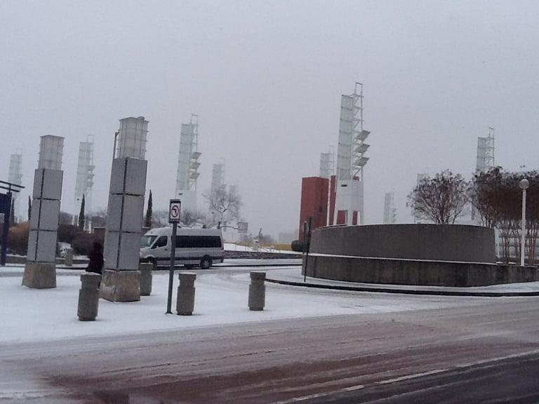 Snow at IPPE in Atlanta