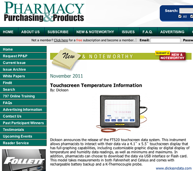 Pharmacy Purchasing & Products Screenshot